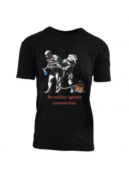 Ανδρικό T-Shirt 'Be Soldier....'