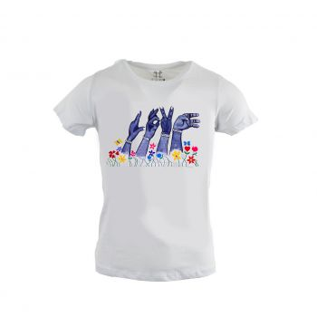 Women's T-Shirt 'Love Hands'