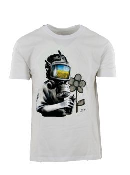 Ανδρικό T-Shirt 'Gas Mask Boy'