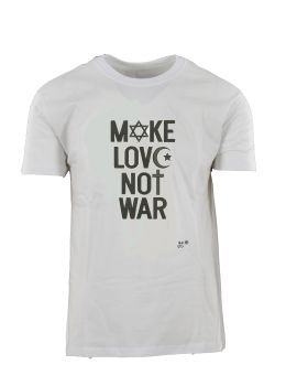 Ανδρικό T-Shirt 'Make Love Not W@r'